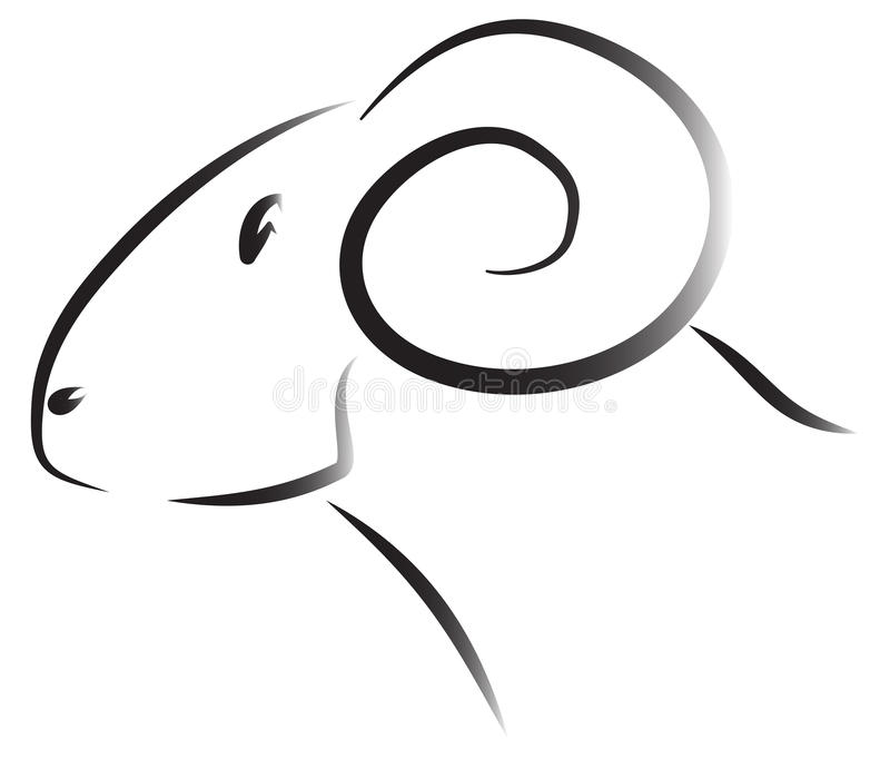 Download Sheep Ram Logo Stock Vector Illustration Of Design Commerce