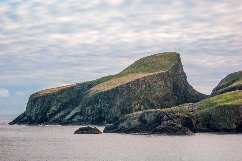 Sheep Rock Fair Isle Shetland Stock Image - Image: 40372621