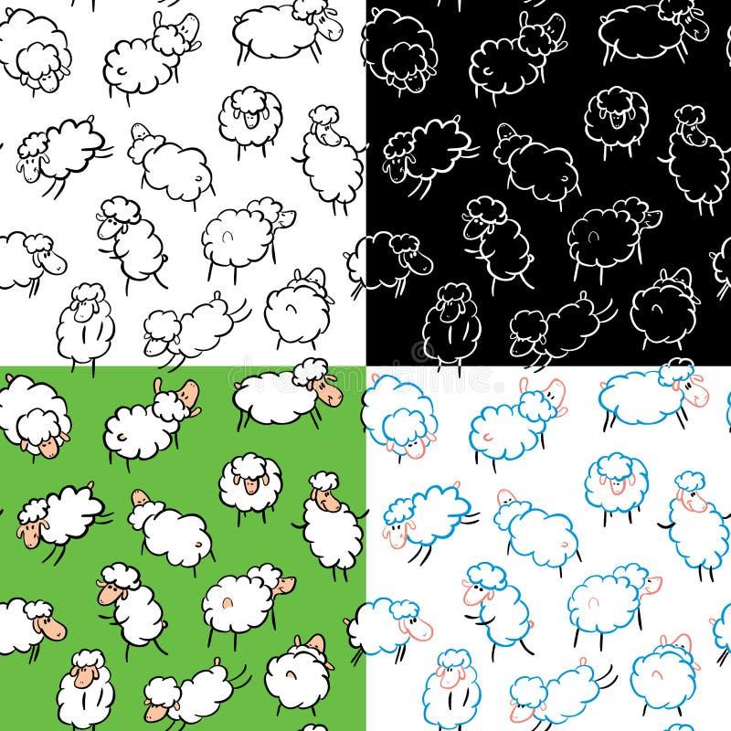 Download Sheep seamless stock vector. Illustration of livestock - 13451199