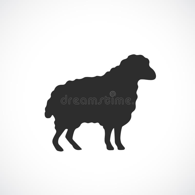Sheep vector icon vector illustration