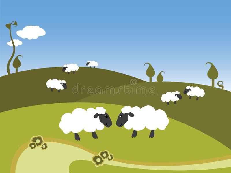 sheepland ελεύθερη απεικόνιση δικαιώματος