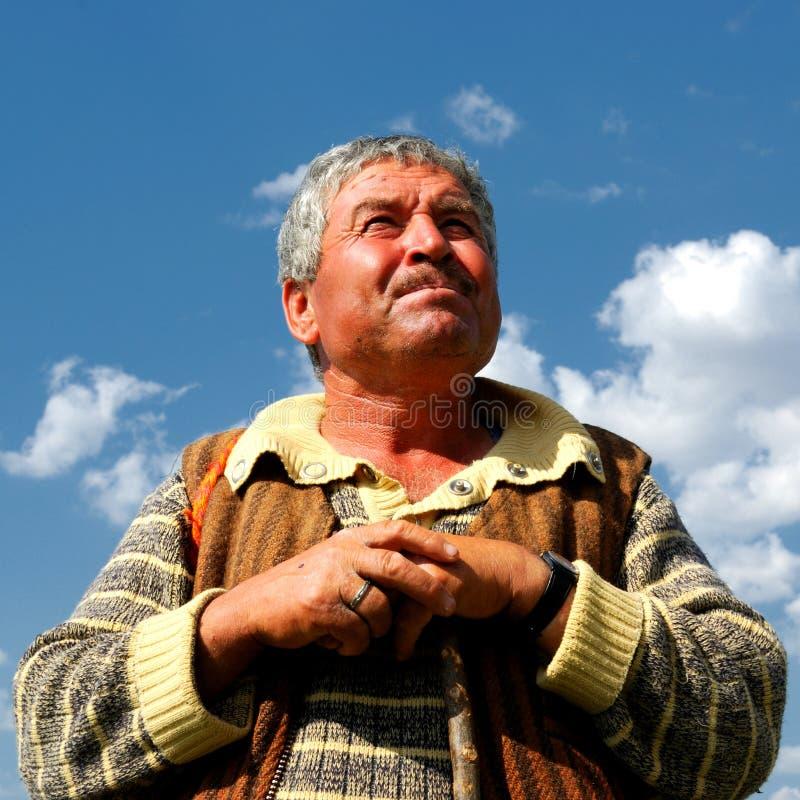 Free Sheepman Portrait Stock Image - 17843091