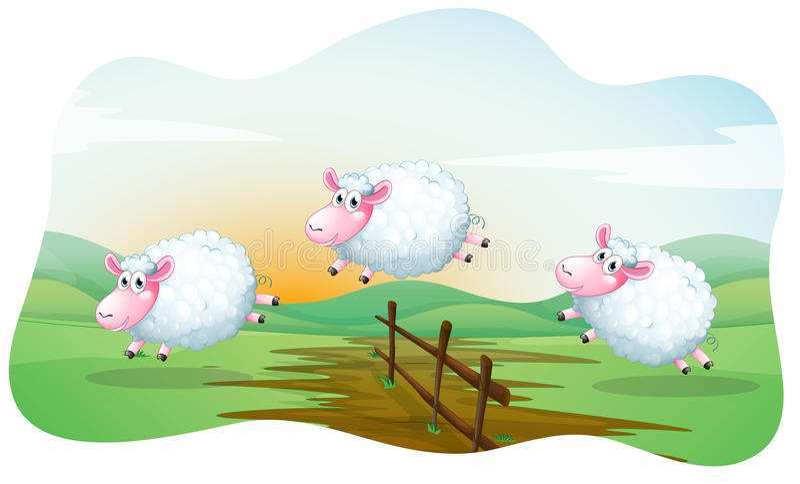 Sheeps απεικόνιση αποθεμάτων