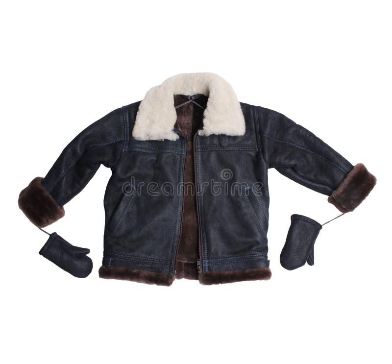 Sheepskin Coat For Baby Boy Stock Photo - Image: 48932346