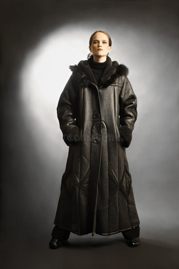 Download Sheepskin Coat Winter Clothes Fashion Stock Image - Image: 22467105