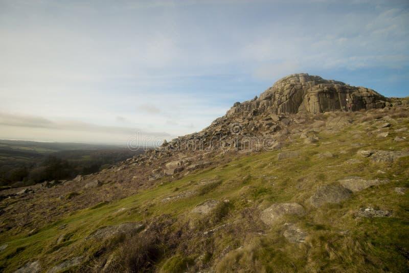 Sheepstor Dartmoor park narodowy Devon uk obrazy stock