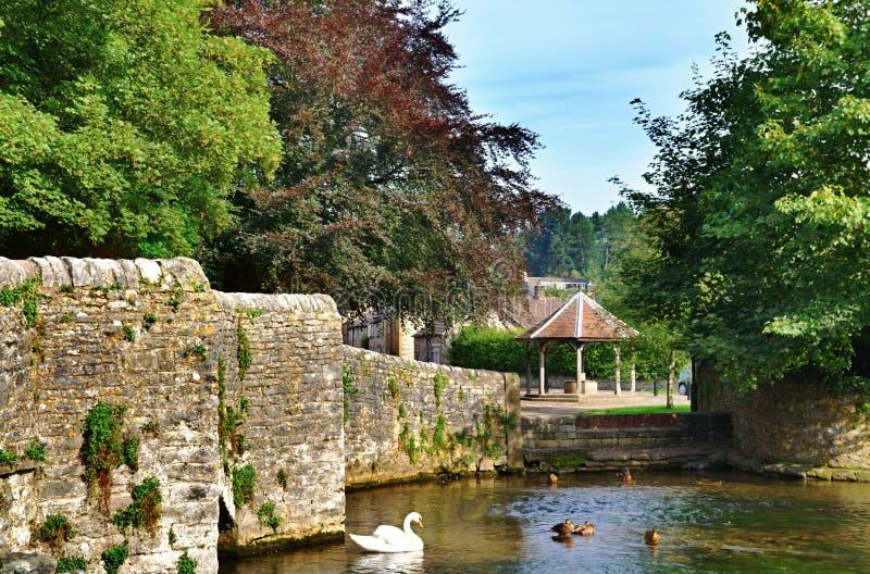 Sheepwashbrug, ashford-in-de-Water royalty-vrije stock foto