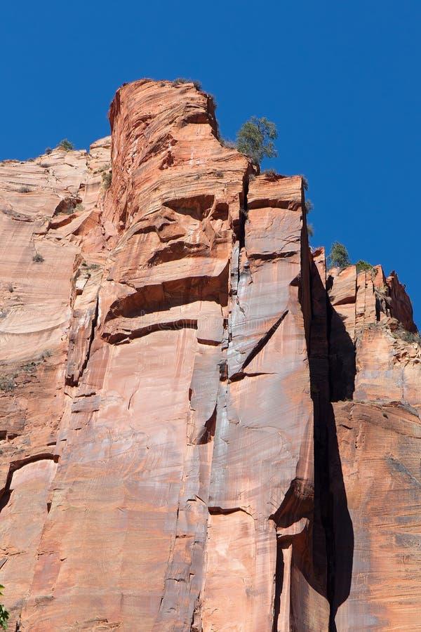 Sheer Canyon Walls Royalty Free Stock Images