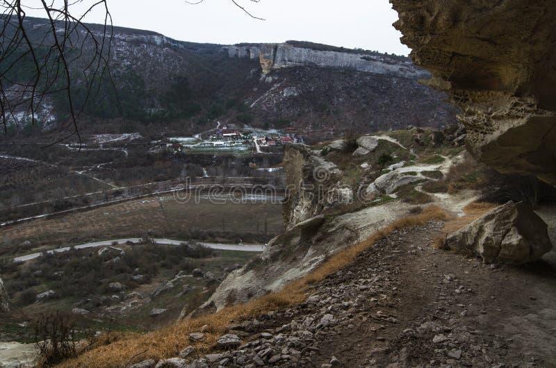 Kachi-Kalion in Crimea royalty free stock photography