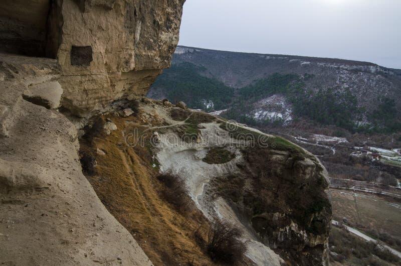 Kachi-Kalion in Crimea stock image