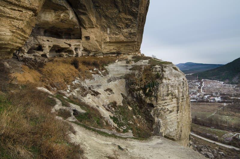 Kachi-Kalion in Crimea royalty free stock photos