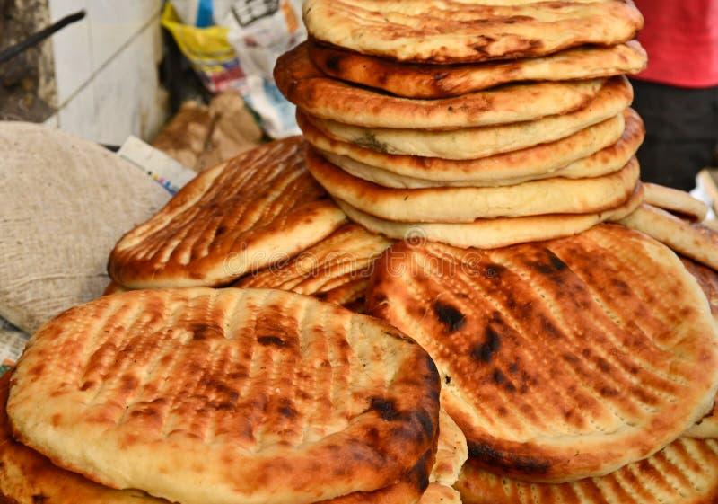 Sheermal -Sweet naan during Ramzan. Sheermal is sweet naan made during Ramzan in arabic middle east and kashmir wazwaan royalty free stock photos