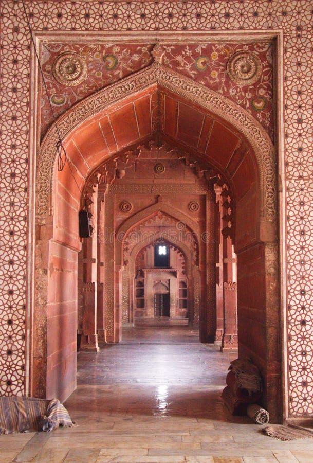 Sheesh Mahal, sitio de la herencia, Agra, la India, 2012, enero, 1r imágenes de archivo libres de regalías