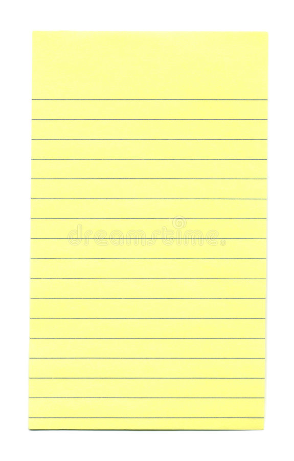 Sheet of Blank-Paper stock photo