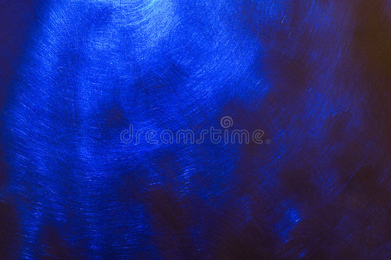 Sheet copper blue royalty free stock photography