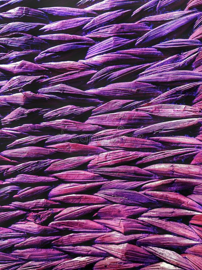 Wicker bamboo knitted background texture royalty free stock image