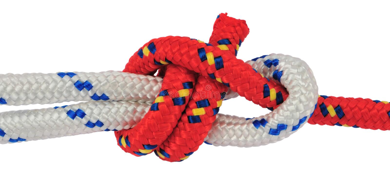 Sheet knot royalty free stock photography