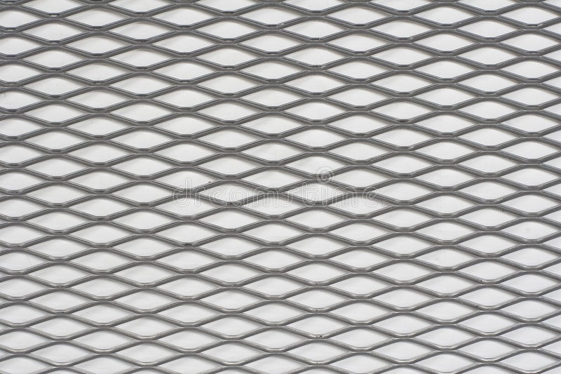 Sheet of metal. On white background stock photos