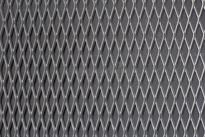 Sheet of metal. On black background royalty free stock photos