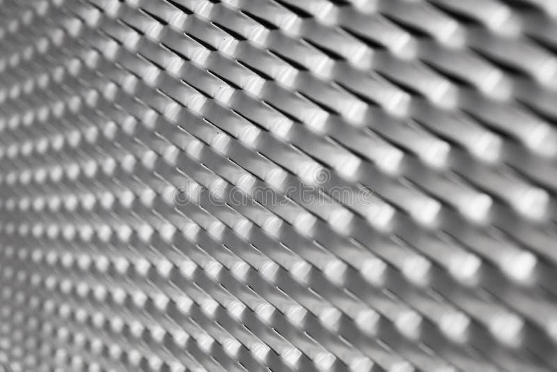 Sheet metal backdrop. Closeup detail of the sheet metal backdrop royalty free stock photography