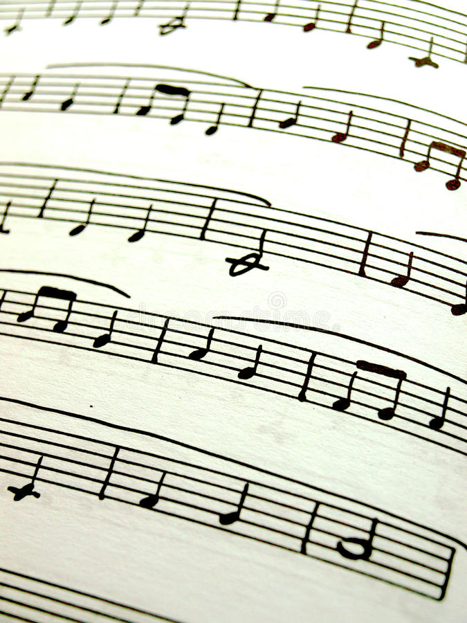 Download Sheet music stock image. Image of opera, foreground, song - 10414019