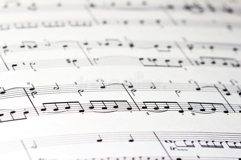 Download Sheet of music stock photo. Image of make, notes, entertain - 1707230