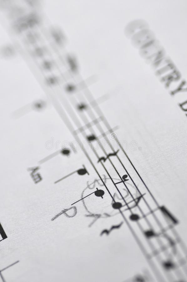 Download Sheet music stock image. Image of musical, white, small - 21148237