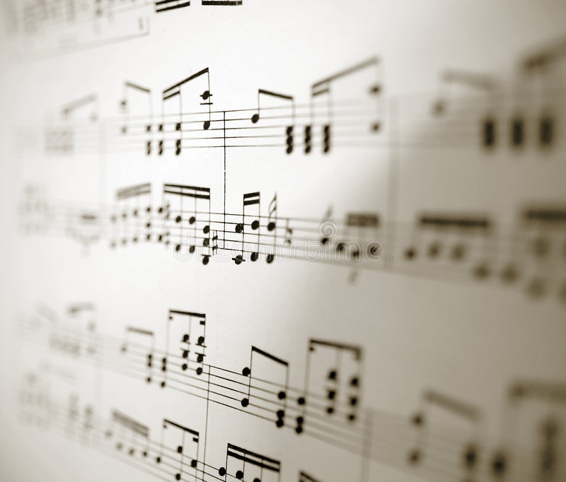 Download Sheet of musical notes stock photo. Image of melodies - 1041320