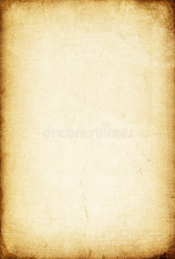 Download Sheet of old paper. stock image. Image of aged, grunge - 13908579