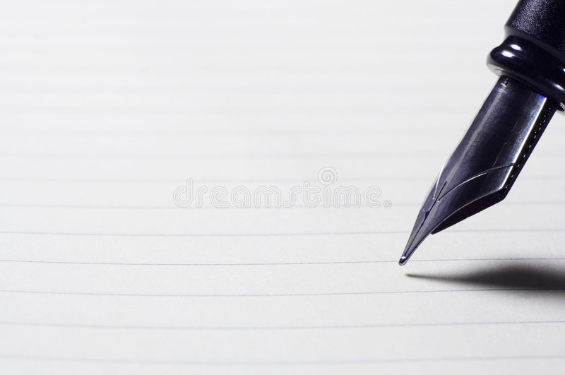 Download Sheet And Pen Stock Photography - Image: 1719142