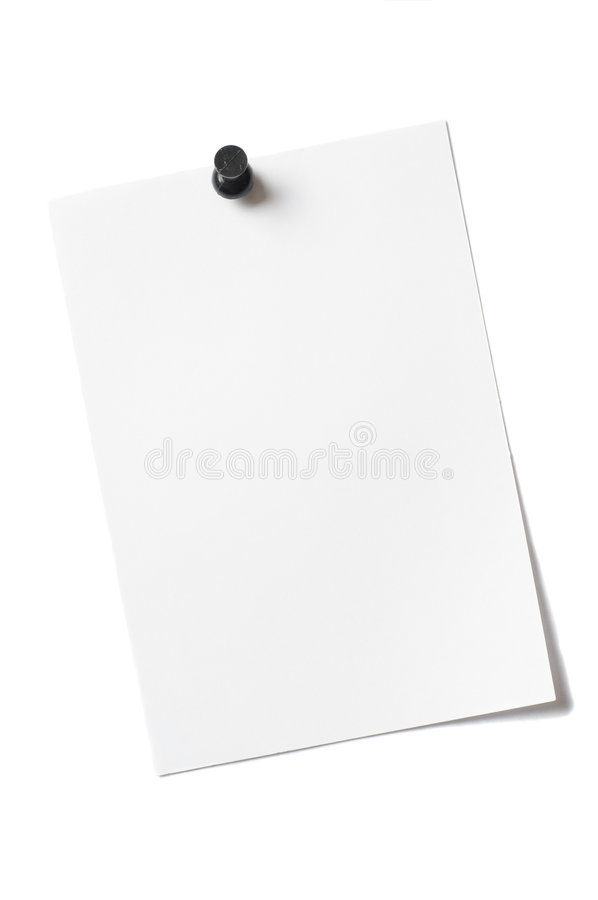 Sheet Scrap. Sheet Notes, Scraps and annotations royalty free stock photo