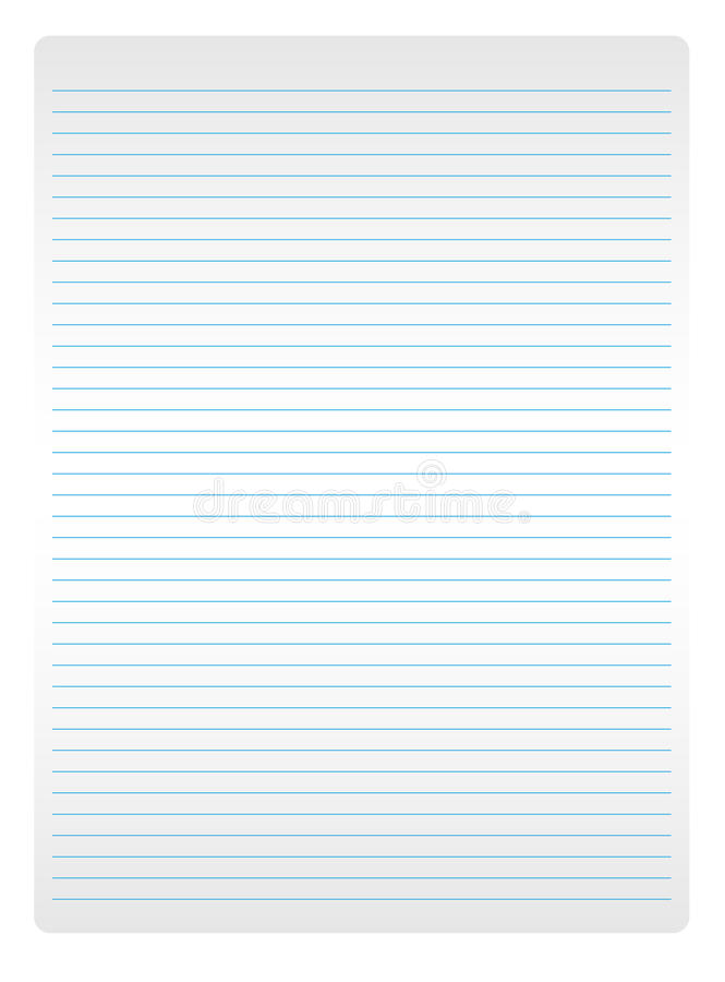 Download Sheet of white paper stock vector. Illustration of curl - 14226304