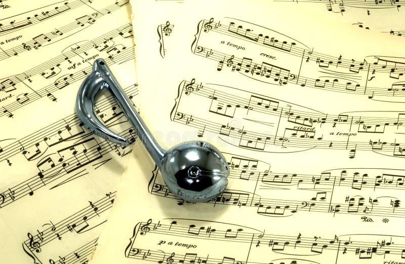 sheetmusic 库存图片
