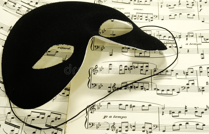 Sheetmusic lizenzfreies stockbild