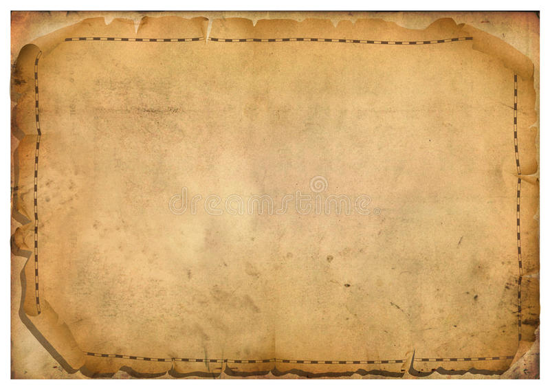 Sheets of parchment vector illustration