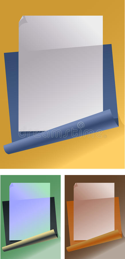 Download Sheets Of A Writing Paper Royalty Free Stock Image - Image: 13254856