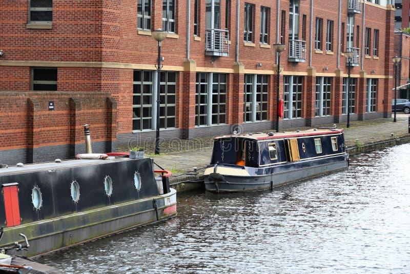 Sheffield Canal foto de stock royalty free
