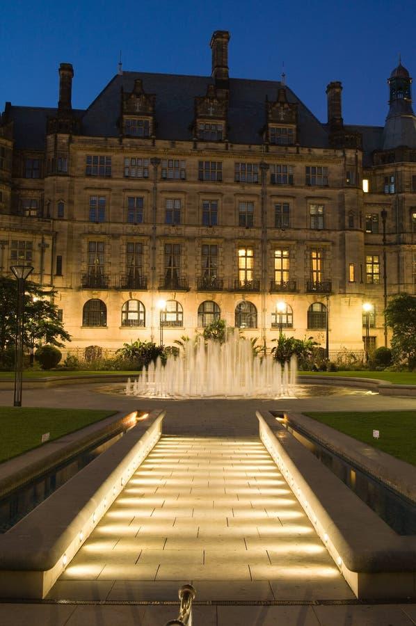 Sheffield-Jahrtausend-Gärten lizenzfreie stockfotografie