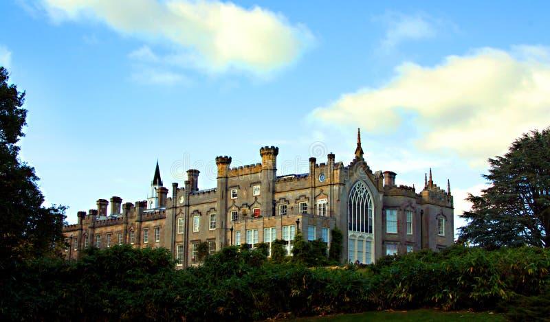 Sheffield Park-huis in mooie parkland royalty-vrije stock foto