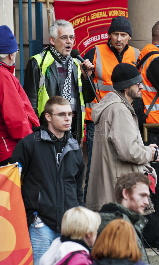 Download Sheffield Pensions Strike editorial image. Image of city - 22253440