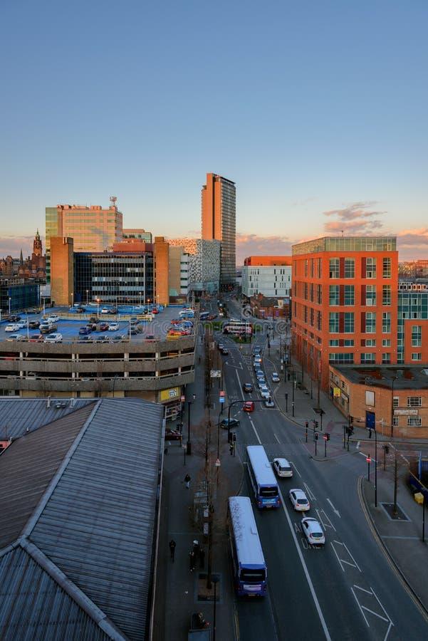 Sheffield, South Yorkshire, Inghilterra, U k fotografie stock libere da diritti