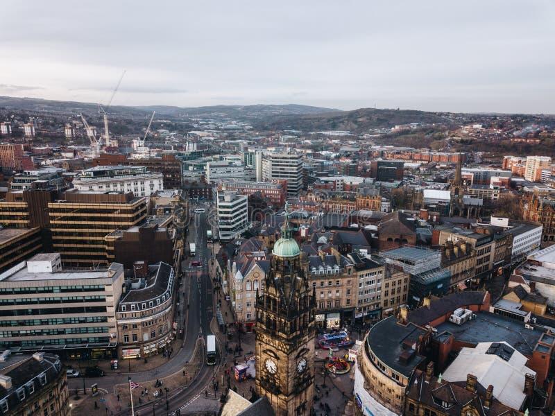 Sheffield stad royaltyfria foton