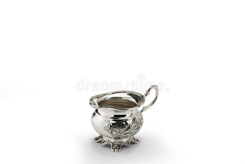 Sheffild a ciselé le pot de lait photo libre de droits