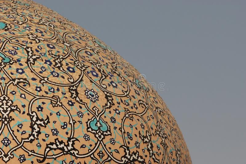 Sheikh Lotfollah Mosque Dome royaltyfria bilder