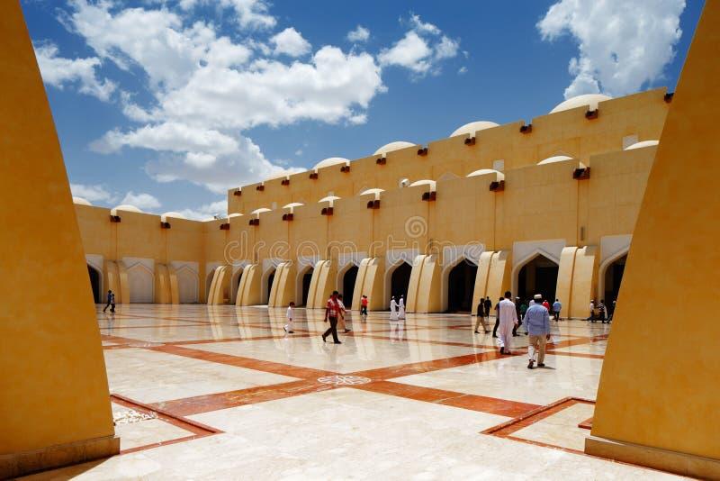 Sheikh Muhammad Ibn Abdul Wahhab State Mosque του Κατάρ στοκ εικόνες