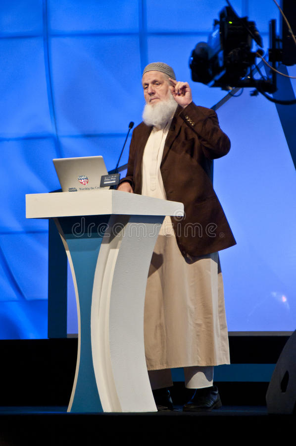 Free Sheikh Yusuf Estes From USA In DIPC 2012 Stock Photography - 24377652