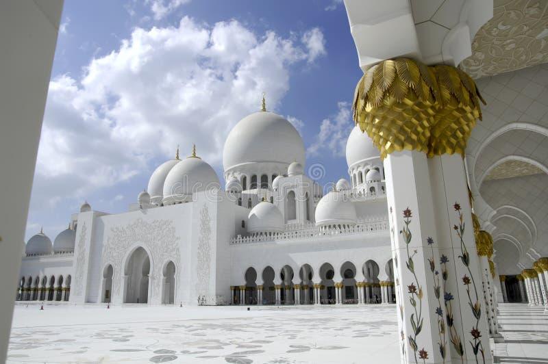 Sheikh Zayed Al Nahyan Mosque - Abu Dhabi stock photos