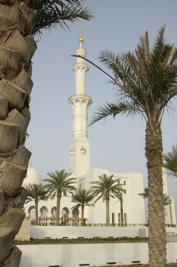 Sheikh Zayed Al Nayhan Mesquita fotografia de stock royalty free