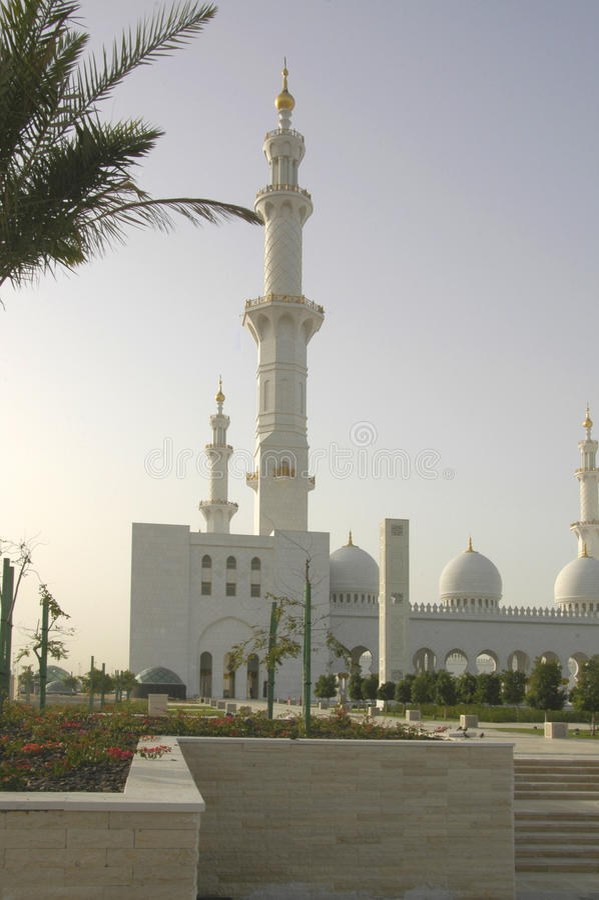 Sheikh Zayed Al Nayhan Mesquita fotos de stock royalty free