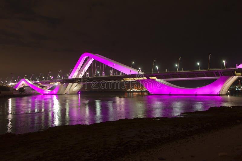 Sheikh Zayed Bridge photographie stock libre de droits